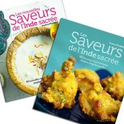 My 2 Indian vegetarian cookbooks