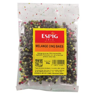 Five berries mix Spices and peppers