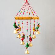 Indian handicraft bamboo wind chime