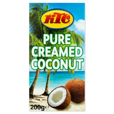 Indian pure creamed coconut 200g