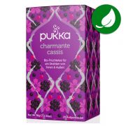 Tisane Pukka tea Charmante cassis biologique