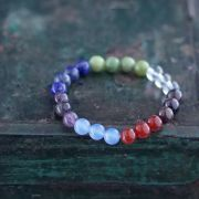 Indian 7 chakras beads bracelet