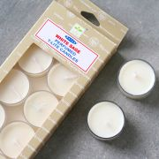 Indian scented candles White sage x12