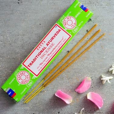 Encens indiens Nag Champa Ayurveda traditionnelle 15g