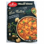 Indian aloo mutter dish