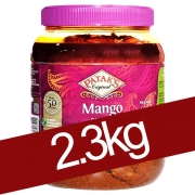 Pickles indiens mangue en gros 2.3kg