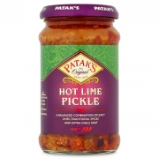 Pickle hot lime Indian achars very spicy 250ml