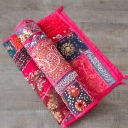 Indian wall hanging Patchwork pink