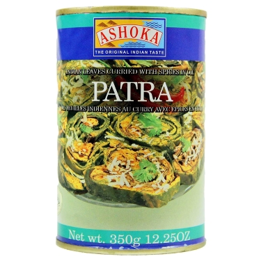 Plat indien légumes Patra curried 350g