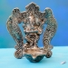Indian metal incense holder lord Ganesh