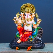 Indian hindu god Ganesh statue for temple