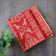 Indian handcrafted cotton table runner