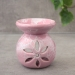 Ceramic essential oil burner pink color