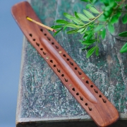 Indian Incense stick wooden stand carved