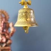 Handcrafted Indian brass bell