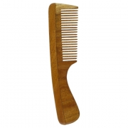 Neem Comb Nature fine with handle