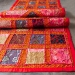 Indian handcrafted wall hanging red colors