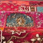 Indian wall hanging Patchwork red