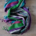 Indian mixed cotton scarf colorful