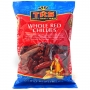 Indian whole red chillies