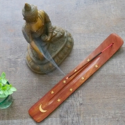 Indian Incense stick stand Moon and stars