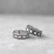 Indian handcrafted ethnic foot rings X2 pieces