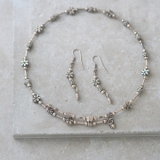 Indian metal handcrafted jewelry set