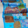 Indian wall hanging Patchwork blue