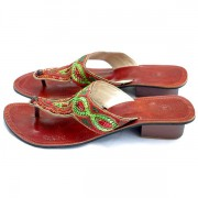 Indian shoes green 38