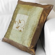 Cushion cover Satin light maroon L41