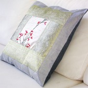 Cushion cover Satin violet L40