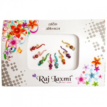 Bindis Indian pack different motifs