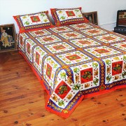 Indian printed bed sheet Chokhana