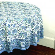 Indian round table cover Neela