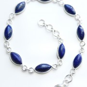 Indian bracelet Silver and Lapis lazuli