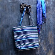 Dhari natural Indian Blue bag