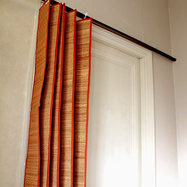 Indian curtains, decoration of the house by Pankaj Indian online shop
