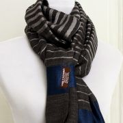 Indian Cashemere wool scarf grey