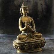 Indian brass Buddha statue