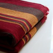 Indian sofa or bed cover maroon color