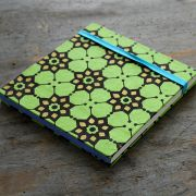 Indian original handicraft diary green