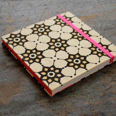 Indian original handicraft diary beige