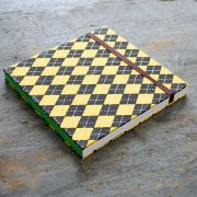 Indian original handicraft diary yellow