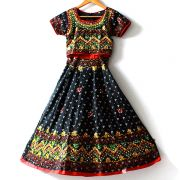 Indian black Lehenga set for children