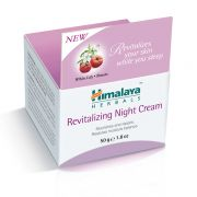 Revitalizing night cream for face Himalaya