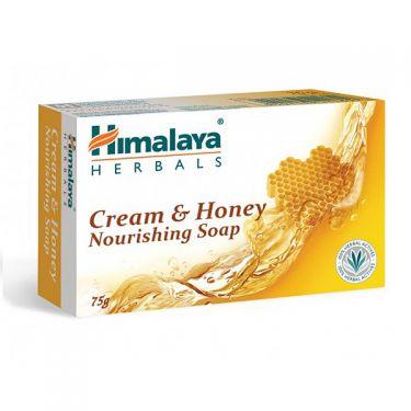 Nourishing soap Cream and honey Himalaya