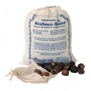 Washing nutshells natural and organic lye