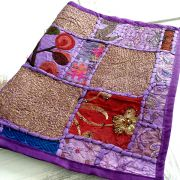 Indian wall hanging purple