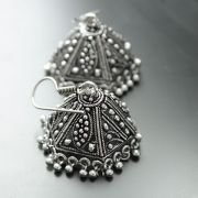 Jhumka Indian earrings hexa