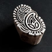 Indian wooden printing block Mango